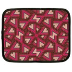 Digital Raspberry Pink Colorful  Netbook Case (XXL)  Front