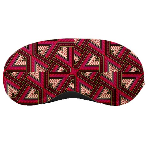 Digital Raspberry Pink Colorful  Sleeping Masks
