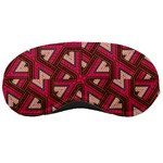Digital Raspberry Pink Colorful  Sleeping Masks Front