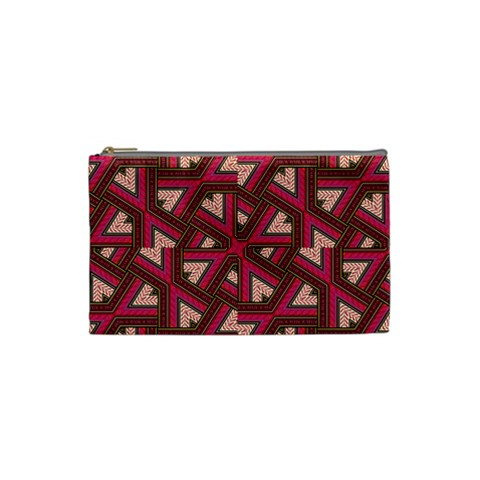 Digital Raspberry Pink Colorful  Cosmetic Bag (Small)