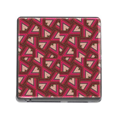 Digital Raspberry Pink Colorful  Memory Card Reader (Square)