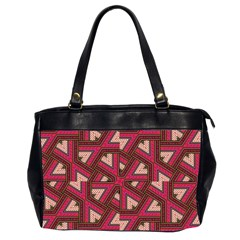 Digital Raspberry Pink Colorful  Office Handbags (2 Sides)