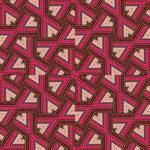 Digital Raspberry Pink Colorful  Magic Photo Cubes Side 2