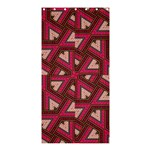 Digital Raspberry Pink Colorful  Shower Curtain 36  x 72  (Stall)  33.26 x66.24 Curtain