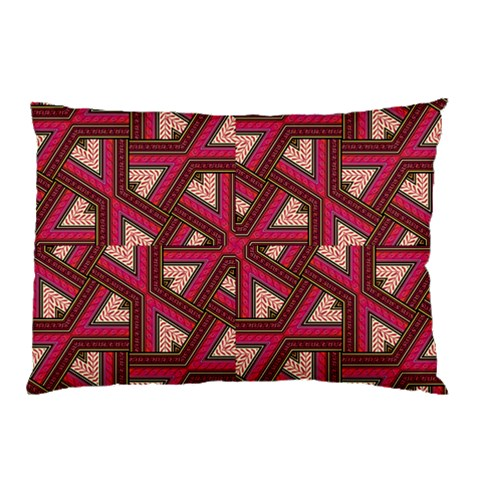 Digital Raspberry Pink Colorful  Pillow Case (Two Sides)