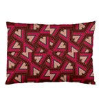 Digital Raspberry Pink Colorful  Pillow Case (Two Sides) Back