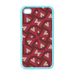 Digital Raspberry Pink Colorful  Apple iPhone 4 Case (Color)