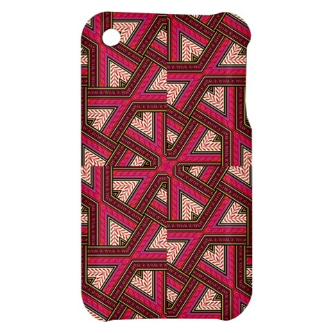 Digital Raspberry Pink Colorful  Apple iPhone 3G/3GS Hardshell Case