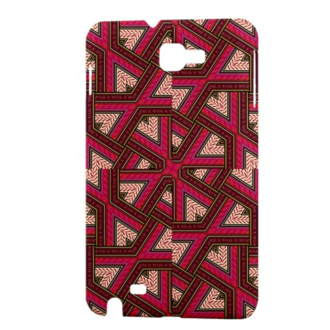 Digital Raspberry Pink Colorful  Samsung Galaxy Note 1 Hardshell Case