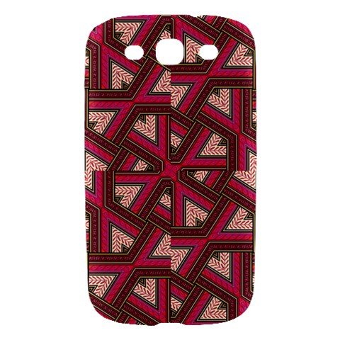Digital Raspberry Pink Colorful  Samsung Galaxy S III Hardshell Case