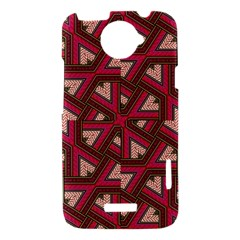 Digital Raspberry Pink Colorful  HTC One X Hardshell Case