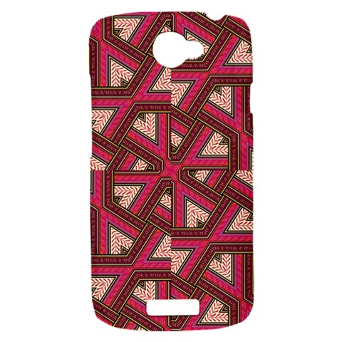 Digital Raspberry Pink Colorful  HTC One S Hardshell Case