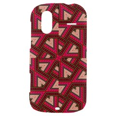 Digital Raspberry Pink Colorful  HTC Amaze 4G Hardshell Case