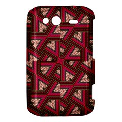 Digital Raspberry Pink Colorful  HTC Wildfire S A510e Hardshell Case