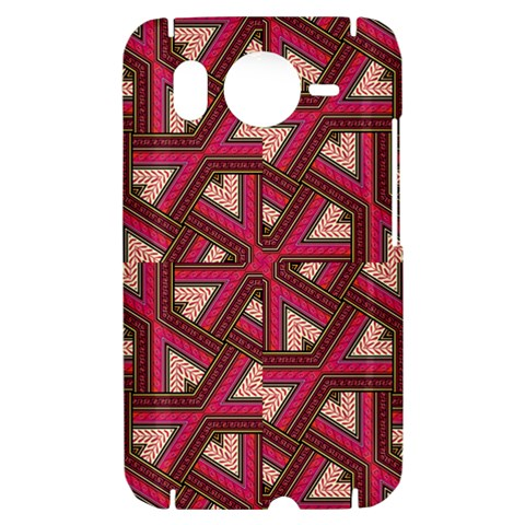 Digital Raspberry Pink Colorful  HTC Desire HD Hardshell Case