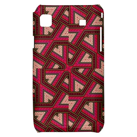 Digital Raspberry Pink Colorful  Samsung Galaxy S i9000 Hardshell Case