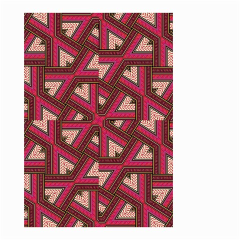Digital Raspberry Pink Colorful  Small Garden Flag (Two Sides)