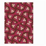 Digital Raspberry Pink Colorful  Small Garden Flag (Two Sides) Front