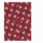 Digital Raspberry Pink Colorful  Large Garden Flag (Two Sides) Front