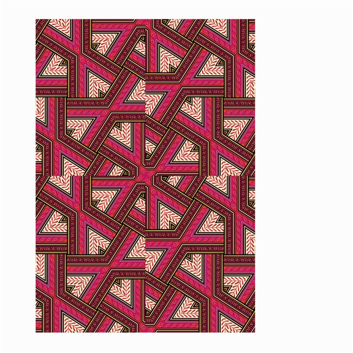 Digital Raspberry Pink Colorful  Large Garden Flag (Two Sides)