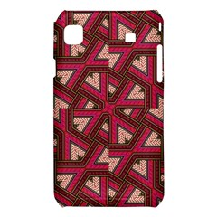 Digital Raspberry Pink Colorful  Samsung Galaxy S i9008 Hardshell Case