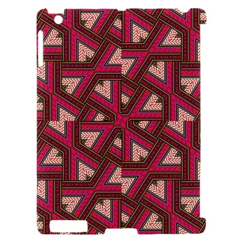 Digital Raspberry Pink Colorful  Apple iPad 2 Hardshell Case (Compatible with Smart Cover)