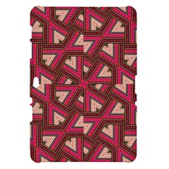 Digital Raspberry Pink Colorful  Samsung Galaxy Tab 10.1  P7500 Hardshell Case