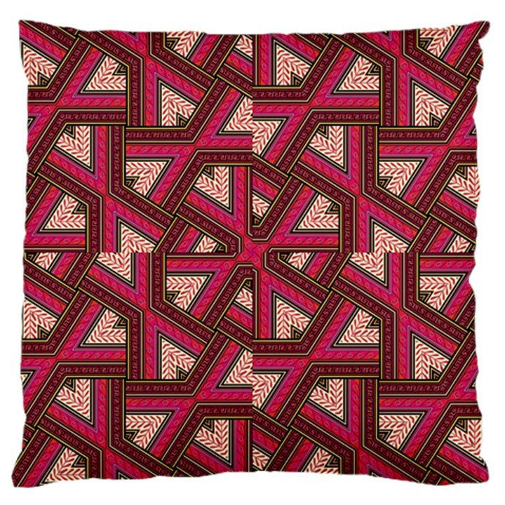 Digital Raspberry Pink Colorful  Large Cushion Case (Two Sides)