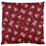 Digital Raspberry Pink Colorful  Large Cushion Case (Two Sides) Back