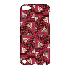 Digital Raspberry Pink Colorful  Apple iPod Touch 5 Hardshell Case