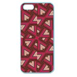 Digital Raspberry Pink Colorful  Apple Seamless iPhone 5 Case (Color) Front