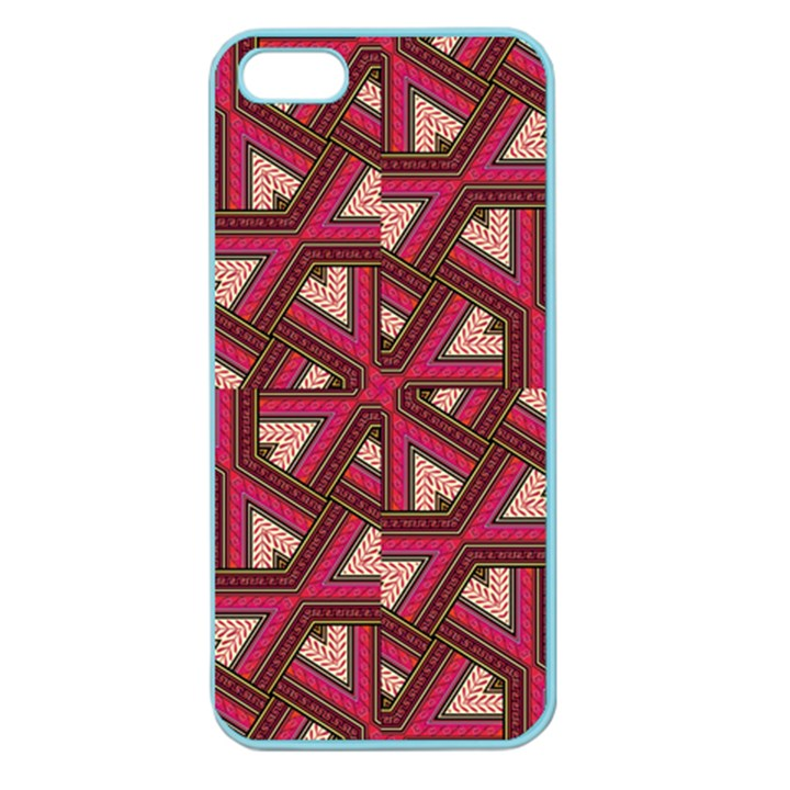 Digital Raspberry Pink Colorful  Apple Seamless iPhone 5 Case (Color)