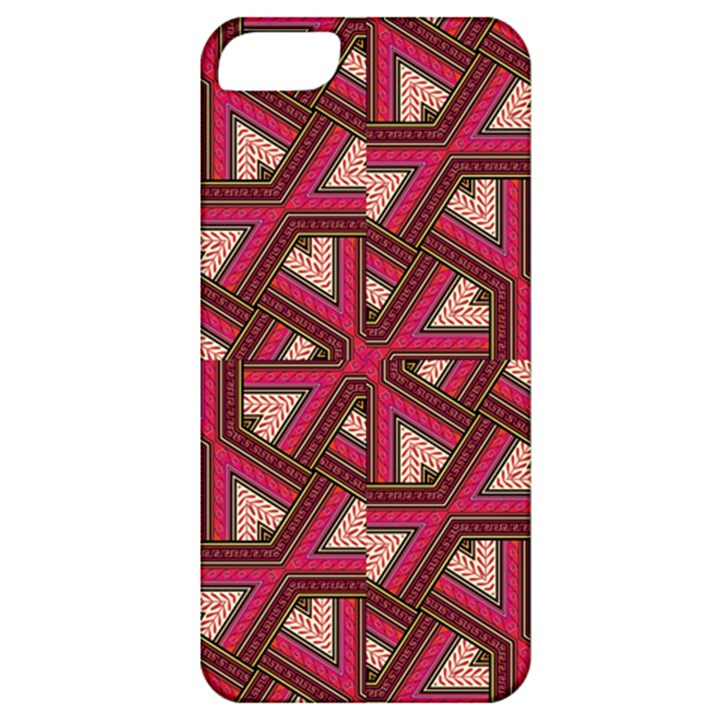 Digital Raspberry Pink Colorful  Apple iPhone 5 Classic Hardshell Case