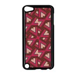 Digital Raspberry Pink Colorful  Apple iPod Touch 5 Case (Black) Front