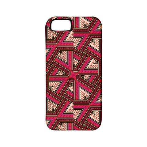 Digital Raspberry Pink Colorful  Apple iPhone 5 Classic Hardshell Case (PC+Silicone)