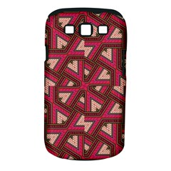Digital Raspberry Pink Colorful  Samsung Galaxy S III Classic Hardshell Case (PC+Silicone)