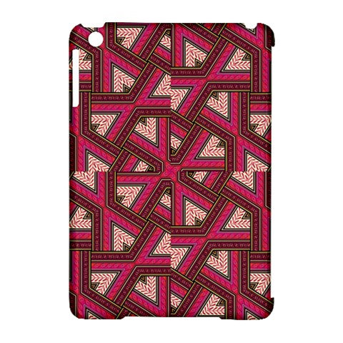Digital Raspberry Pink Colorful  Apple iPad Mini Hardshell Case (Compatible with Smart Cover)