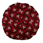 Digital Raspberry Pink Colorful  Large 18  Premium Round Cushions Front
