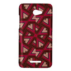 Digital Raspberry Pink Colorful  HTC Butterfly X920E Hardshell Case