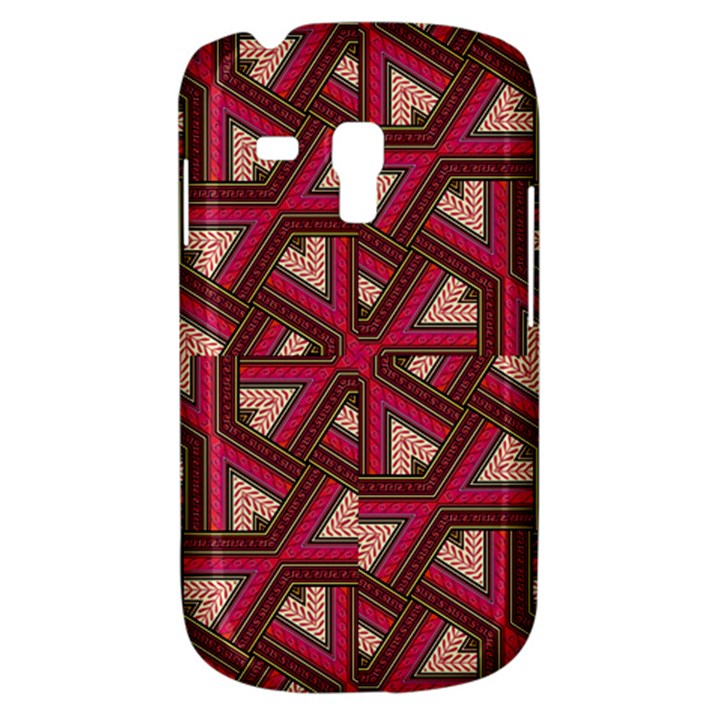 Digital Raspberry Pink Colorful  Samsung Galaxy S3 MINI I8190 Hardshell Case