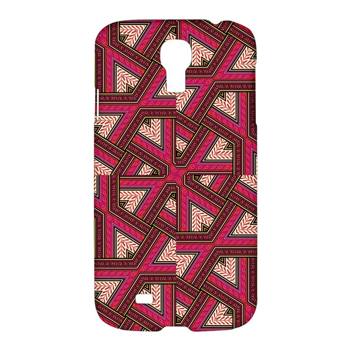 Digital Raspberry Pink Colorful  Samsung Galaxy S4 I9500/I9505 Hardshell Case