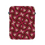 Digital Raspberry Pink Colorful  Apple iPad 2/3/4 Protective Soft Cases Front