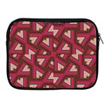 Digital Raspberry Pink Colorful  Apple iPad 2/3/4 Zipper Cases Front