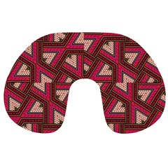 Digital Raspberry Pink Colorful  Travel Neck Pillows