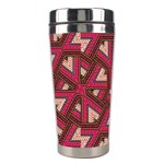 Digital Raspberry Pink Colorful  Stainless Steel Travel Tumblers Center