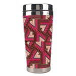 Digital Raspberry Pink Colorful  Stainless Steel Travel Tumblers Right