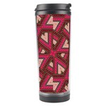 Digital Raspberry Pink Colorful  Travel Tumbler Center