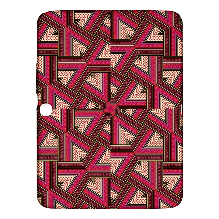 Digital Raspberry Pink Colorful  Samsung Galaxy Tab 3 (10.1 ) P5200 Hardshell Case