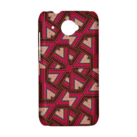 Digital Raspberry Pink Colorful  HTC Desire 601 Hardshell Case