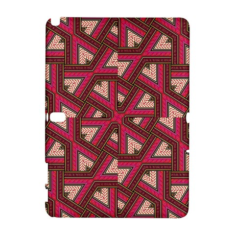 Digital Raspberry Pink Colorful  Samsung Galaxy Note 10.1 (P600) Hardshell Case